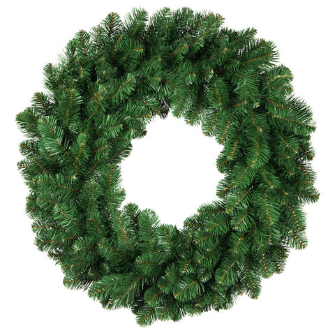 "36"" Premium Oregon Fir Wreath - Lit with LED warm white lights"