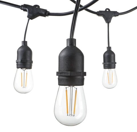 S14 LED Filament Market Lights - Heavy Duty Commercial Grade
