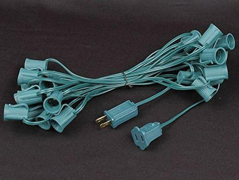 C9 Stringer Wire - 25ft - Green-12 inch spacing