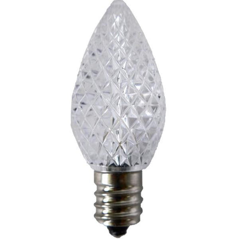 Warm White C7 LED Christmas Light Bulb Elite Holiday Decor