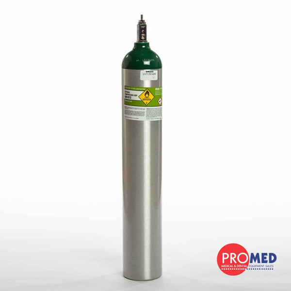 Medical Gas Oxygen Cylinder with CGA870 Post Valve