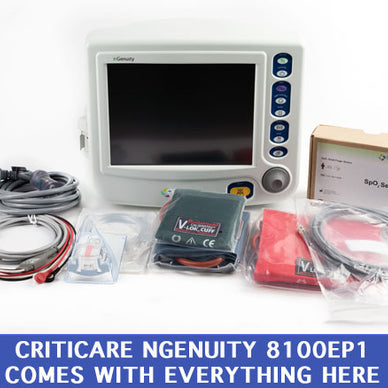Criticare nGenuity 8100EP1 Series