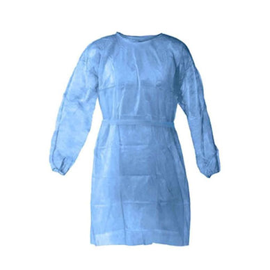 Disposable Blue Isolation Gowns Level 2 (10 Pack)