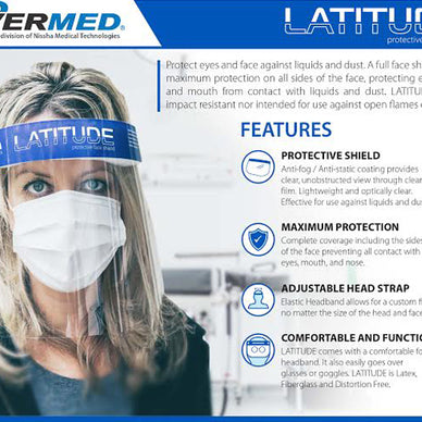LATITUDE Protective Face shield