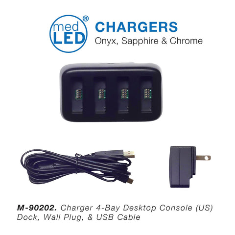 MedLED® Charger 4-Bay