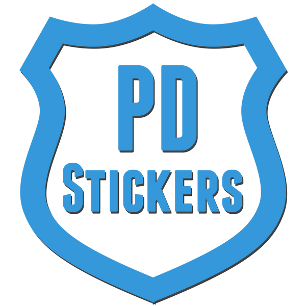 Police Department Stickers