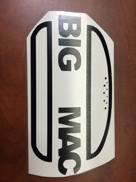 Big Mac Laptop MacBook Vinyl Decal