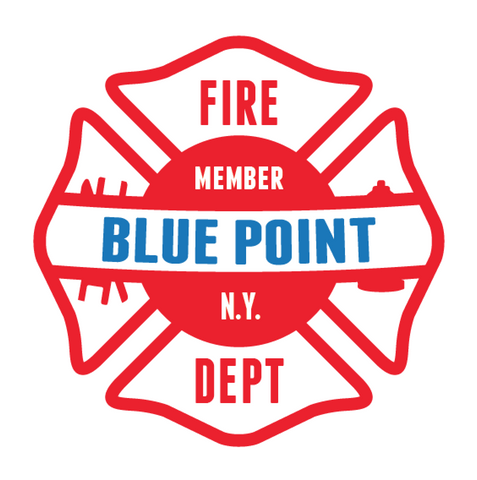 Member of New York Maltese Cross Banner Sticker (Two Color)