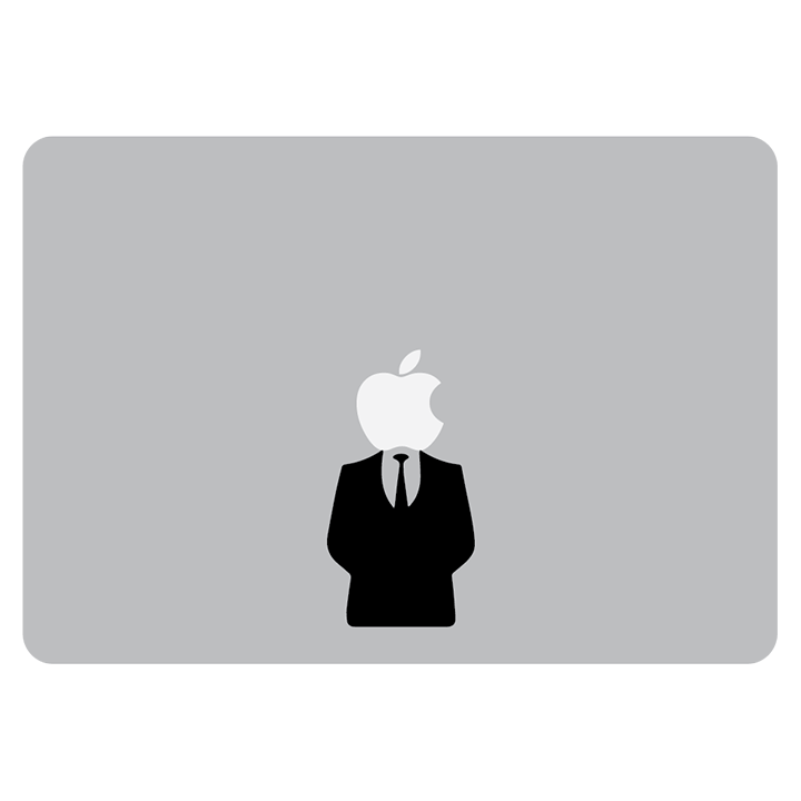 Suit & Tie Laptop MacBook Vinyl Sticker