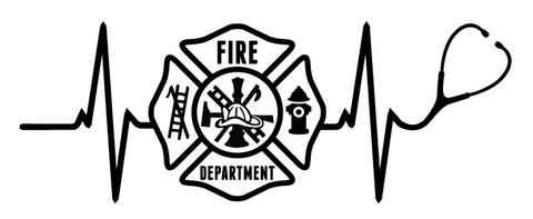Fire Dept. Stethoscope Heartbeat