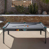 Hyphen Outdoor Dining Pool Table