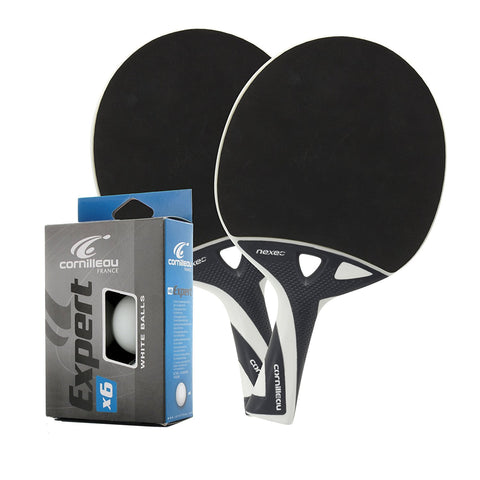 Nexeo X70 2 Player Ping Pong Paddle Set - Cornilleau Singapore
