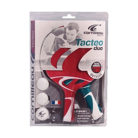 Cornilleau Singapore - Tecteo Pack Duo (Waterproof) Table Tennis Ping Pong Bat