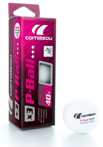 Cornilleau Singapore - P-BALL ITTF Competition Table Tennis Ping Pong Balls