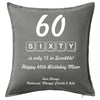 Scrabble Cushion Personalised Custom Uniform Teamwear Gift- Parkway Designs
