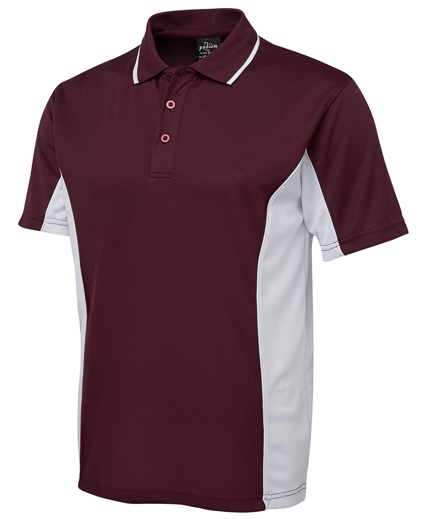 Adults Contrast Coloured Polo Shirt Including Your Logo Embroidered