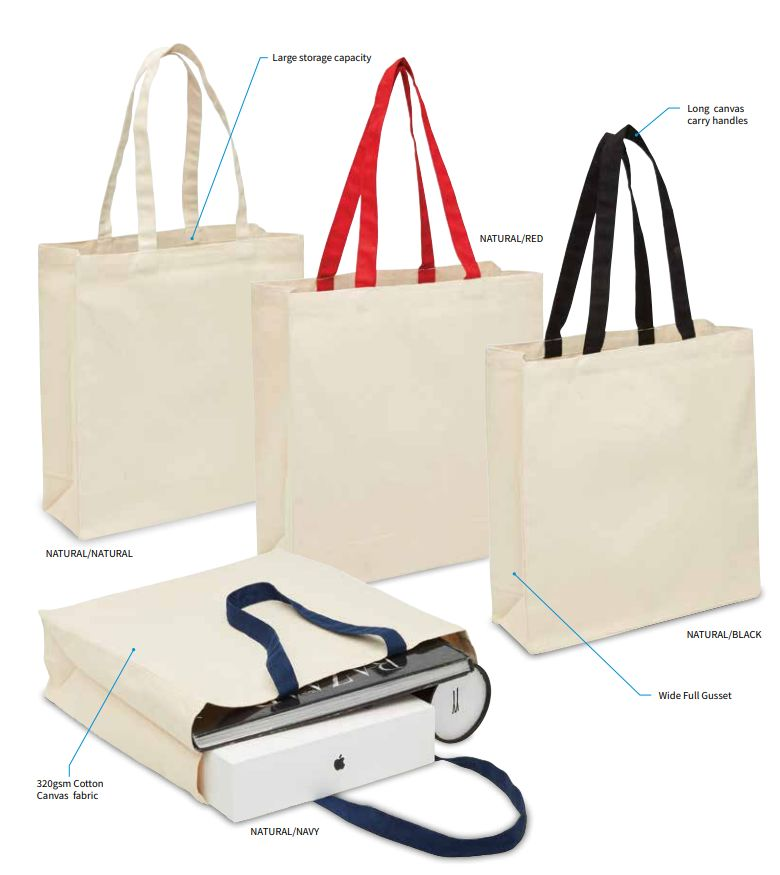 Heavy Duty Blank Canvas Tote Bag