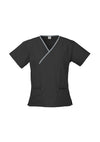 Ladies Contrast Health Medical Surgery Scrubs Shirt - with your logo or name