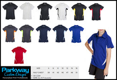 Mens Ladies Accelerator Polo - Including Your Logo Personalised Custom Uniform Teamwear Gift- Parkway Designs