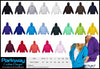 Mens Coloured Zippered Zip Hoodie - Including your design or logo! Personalised Custom Uniform Teamwear Gift- Parkway Designs