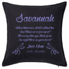 Memorial Cushion Personalised Custom Uniform Teamwear Gift- Parkway Designs