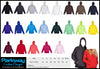 Ladies/Juniors Coloured Kangaroo Pocket Hoodies - Including your Logo or Design ! Personalised Custom Uniform Teamwear Gift- Parkway Designs