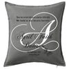 Memorial Cushion Initial Personalised Custom Uniform Teamwear Gift- Parkway Designs