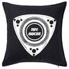 Dads Mancave - Rotary Symbol Cushion Personalised Custom Uniform Teamwear Gift- Parkway Designs