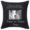Dog Photo Cushions Personalised Custom Uniform Teamwear Gift- Parkway Designs