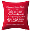 Nannies House Rules Personalised Custom Uniform Teamwear Gift- Parkway Designs
