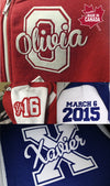 Best Friends Varsity Jackets $60ea incl free shipping Personalised Custom Uniform Teamwear Gift- Parkway Designs