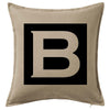 Initial Letters Cushion Custom Printed Personalised Cushion