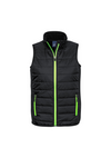 Contrast Colour Tech Puffer Vest mens Ladies Corporate Two Tone