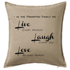 Live Laugh Love Personalised Custom Uniform Teamwear Gift- Parkway Designs