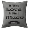 Love at First Meow Personalised Custom Uniform Teamwear Gift- Parkway Designs