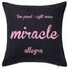 Miracle - Premmie Baby Cushion Personalised Custom Uniform Teamwear Gift- Parkway Designs