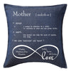 Mother - Definition Cushion Personalised Custom Uniform Teamwear Gift- Parkway Designs