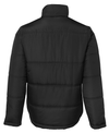 Mens Navy or Black Winter Puffer Jacket