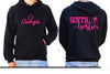 Softball Besties! Supporter Hoodie - PERSONALISED Personalised Custom Uniform Teamwear Gift- Parkway Designs