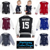 Babies & Kids Varsity / Letterman Personalised Jackets incl Delivery! Personalised Custom Uniform Teamwear Gift- Parkway Designs
