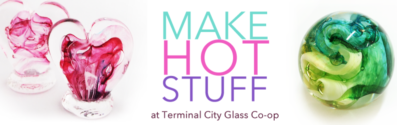 Make gorgeous glass at TCGC this Spring