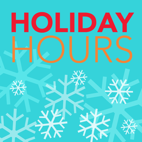 Holiday Season Hours