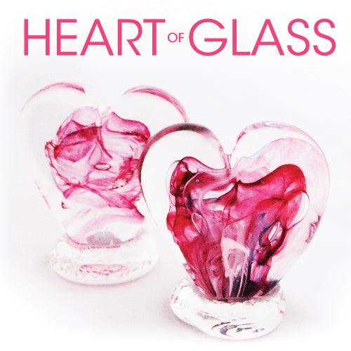 Make a Glass Heart this February!
