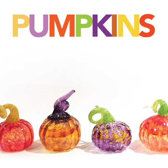 Make a Glass Pumpkin!