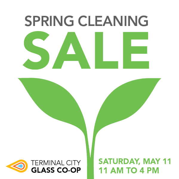 Spring Cleaning Sale! Saturday, May 11
