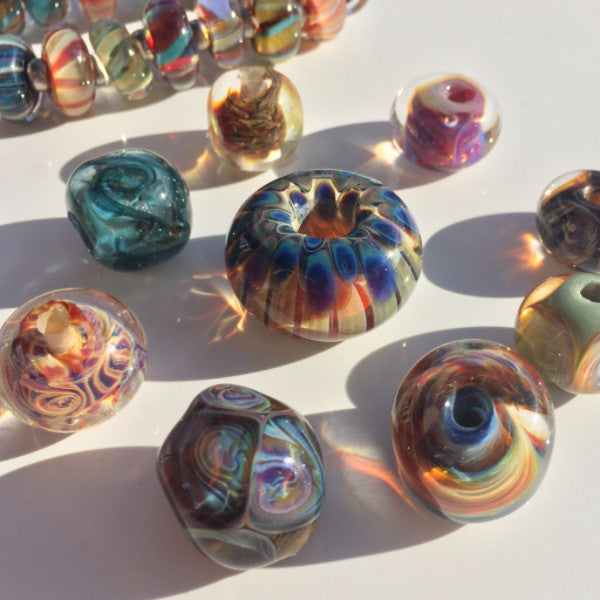 Boro Beads for Beginners <br> Weekend Workshop <br> Sat & Sun, Oct. 14-15, 2017