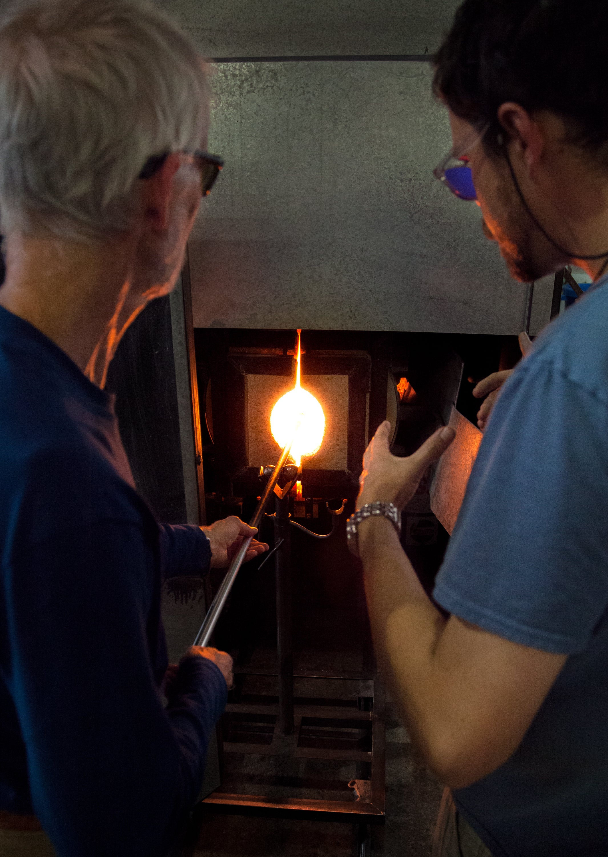 Introduction to Glassblowing <br> 6-Week Class <br> April 24 - May 29, 2019