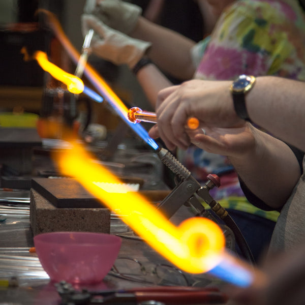 Introduction to Flameworking<br> Weekend Workshop <br> January 18-19, 2020