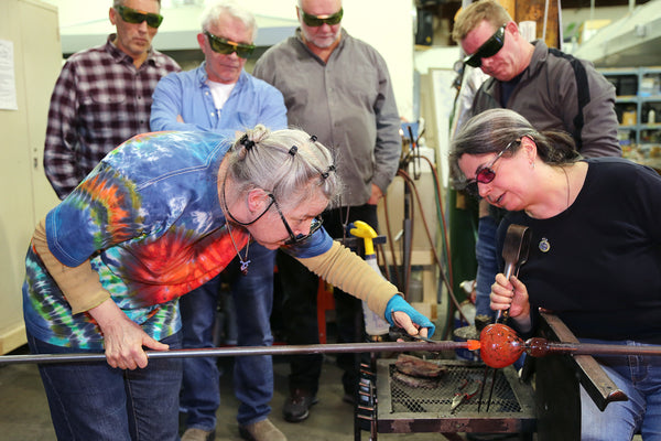 Introduction to Glassblowing <br> 6-Week Class <br> June 19 - July 24, 2019