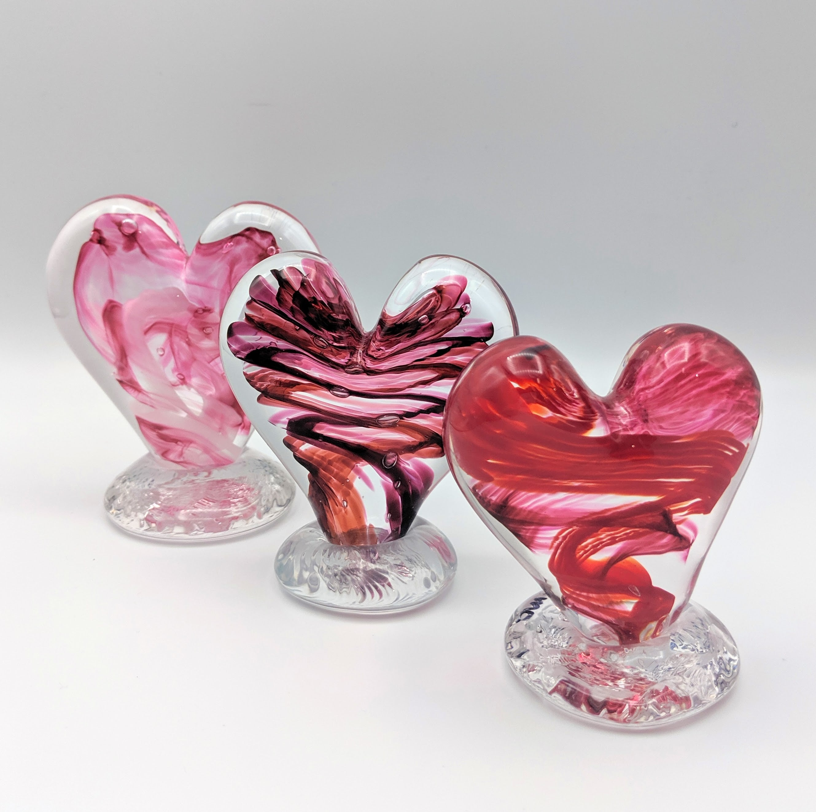 Make a Glass Heart </br>February 1, 2020